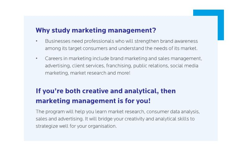 Marketing Management Concentration